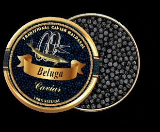 Schwarzer Beluga Kaviar